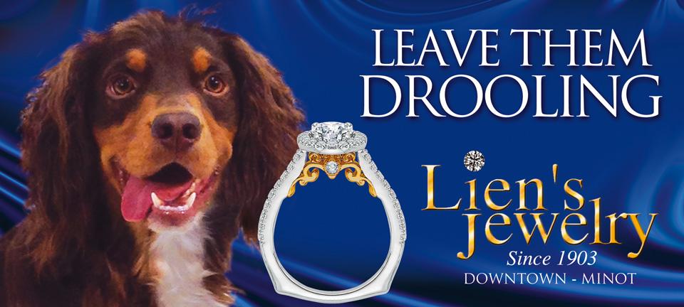 Lien's Jewelry - drool blue